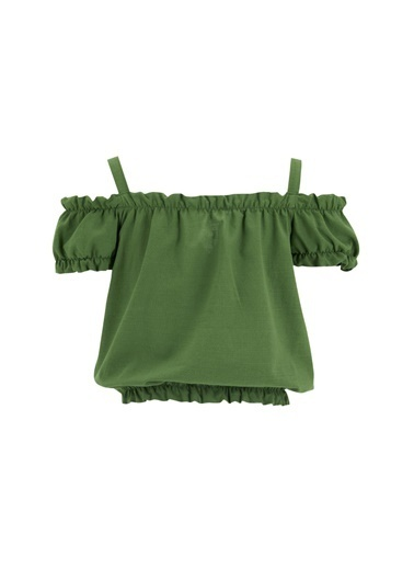 DeFacto Bluz Yeşil